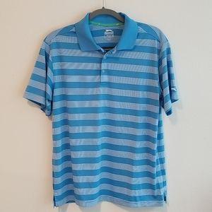 Blue Slazenger golf shirt